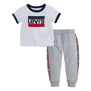 Levi's Baby Boys' [12-24m] Tee + Jogger Two-piece Set - $29.97 ($10.03 Off)